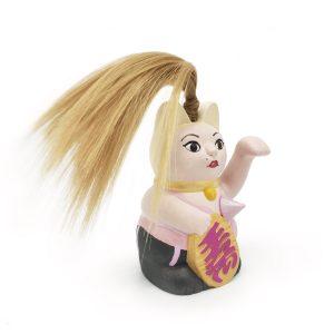Madonna Kiborineko, gato de la suerte (Maneki neko)